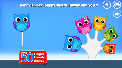Finger Family Rhymes And Game  screenshots 14