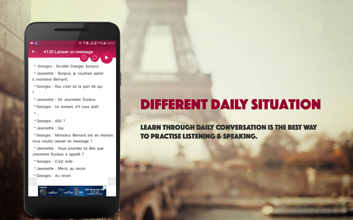 French Conversation Android Applications Appagg