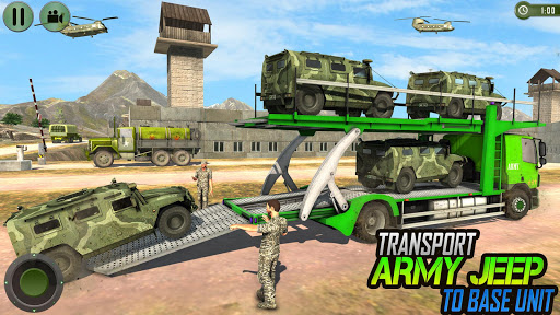Offroad US Army Transport Prisoners Bus Driving  screenshots 4