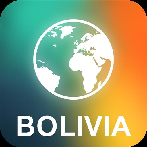 玻利维亚 离线地图 旅遊 App LOGO-APP開箱王
