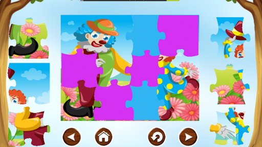Clown Puzzle Game Free For Kid