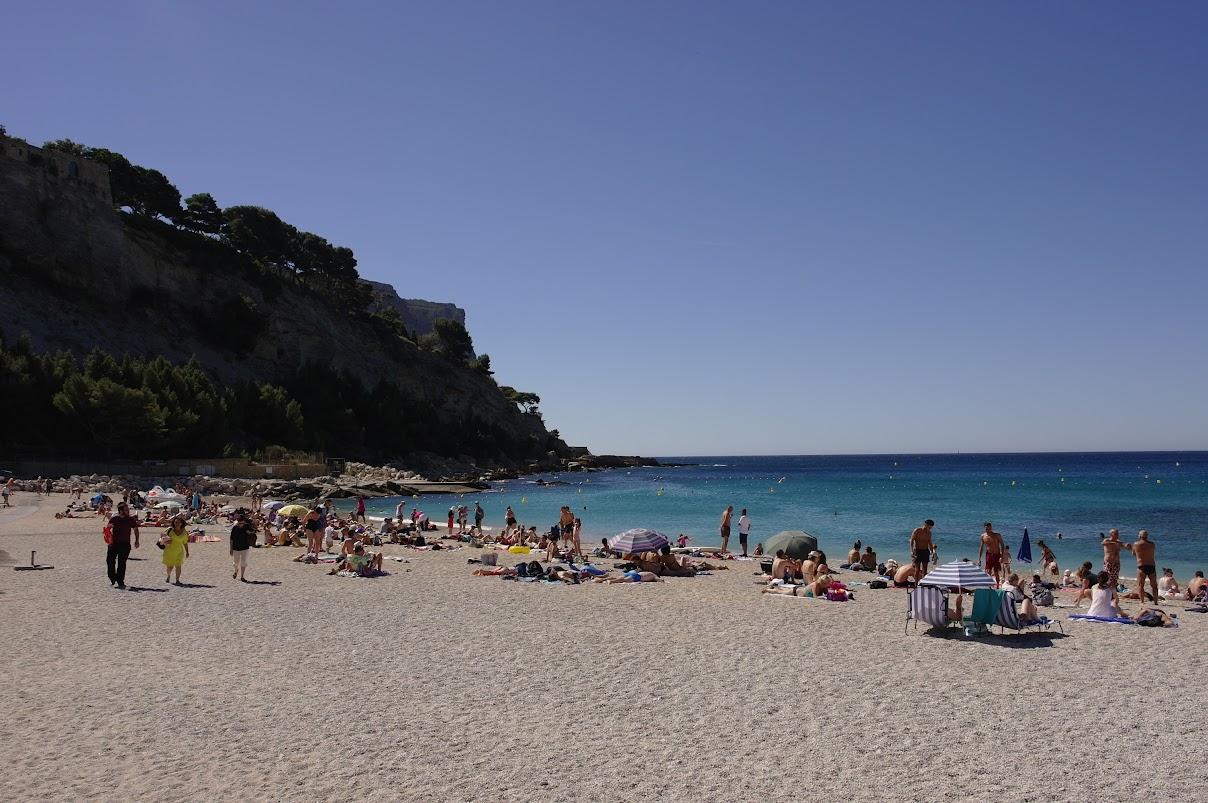 Пляж города Кассис