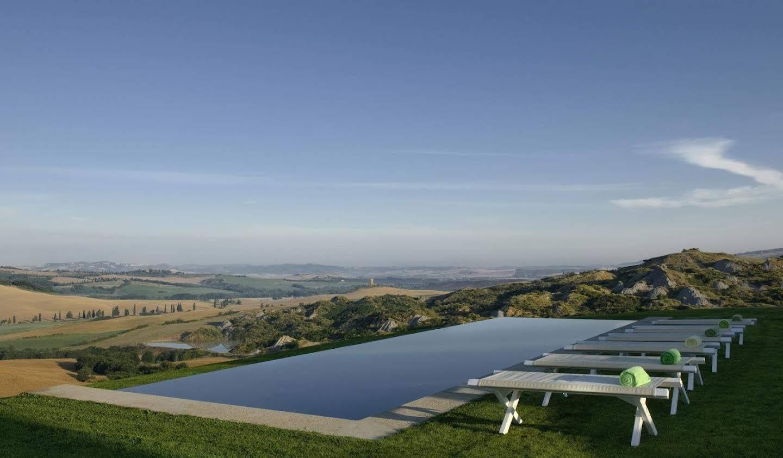 Villa avec piscine Sarteano
