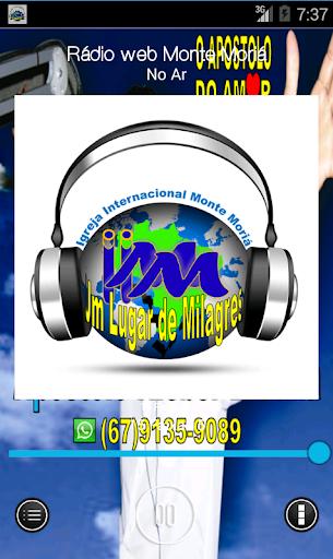 Rádio web Monte Moriá