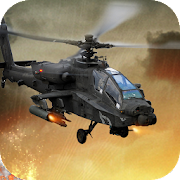 Gunship Helicopter Battle Field