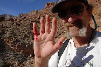 Photo: Those rocks are sharp!
