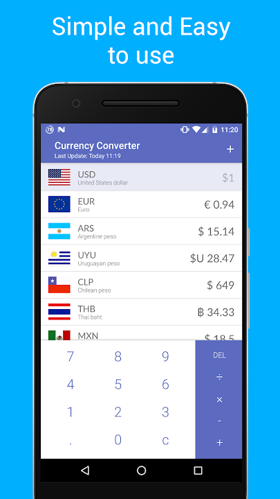 Travel Currency Converter