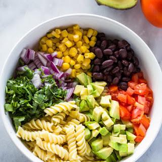 Creamy Tex-Mex Pasta Salad.