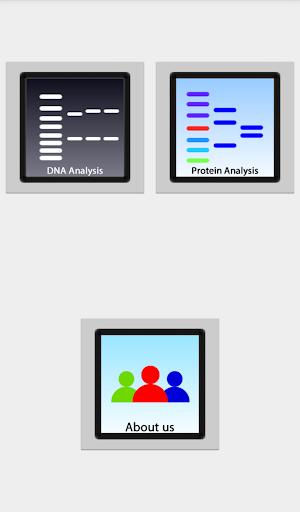 DNA2App - Sequence analyzer