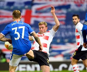 """Laurent Jans après Rangers-Standard : """"Si nous jouons de la sorte, cela va être compliqué de nous battre en Belgique"""""""