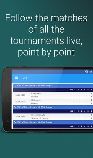 玩運動App|Tennis Zone - US Open live免費|APP試玩