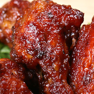 Honey BBQ Chicken Wings.