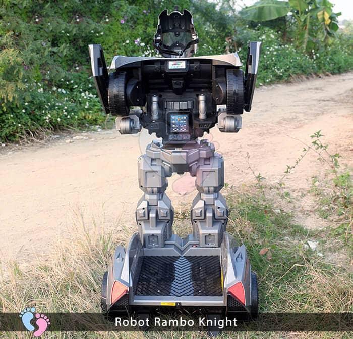 Siêu phẩm Robot Rambo Knight Cho bé 12