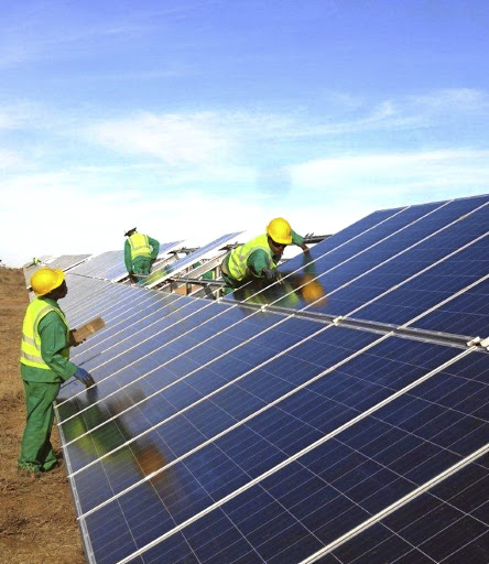 Thinking green: The Sun Exchange lets individuals buy into solar projects. Picture: SUPPLIED