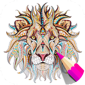 Free Adult Coloring Book App | Animals