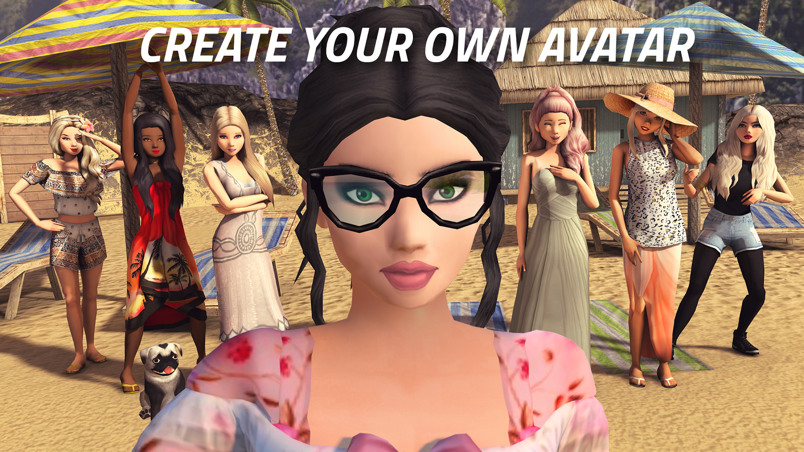 Avakin Life - 3D virtual world-skjermdump