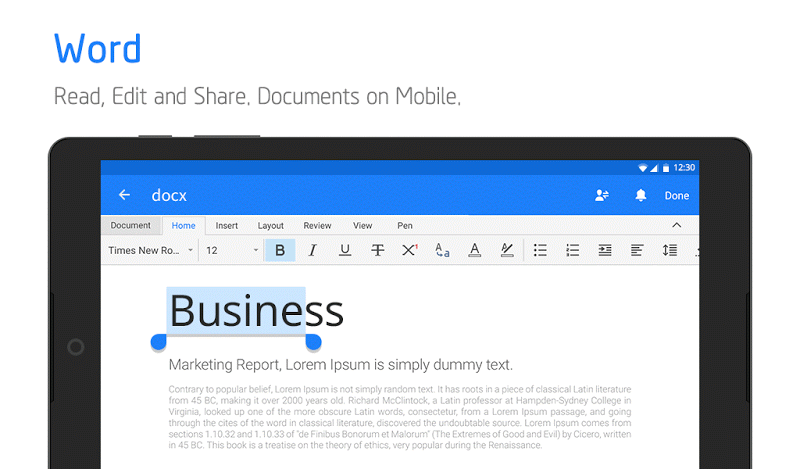 Polaris Office - Word, Docs, Sheets, Slide, PDF Screenshot 17