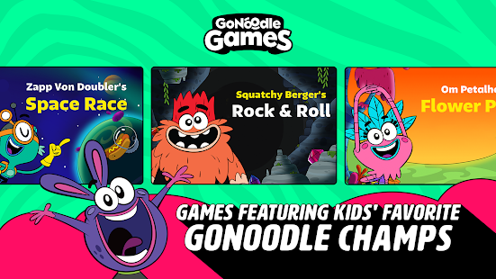 GoNoodle Games - Fun games that get kids moving