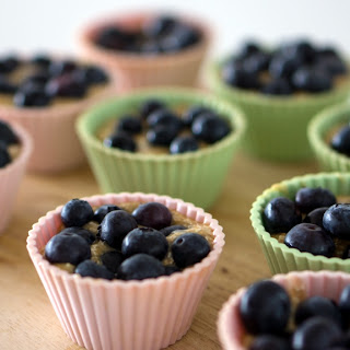 Flourless, Soy-Free Banana Blueberry Muffins.