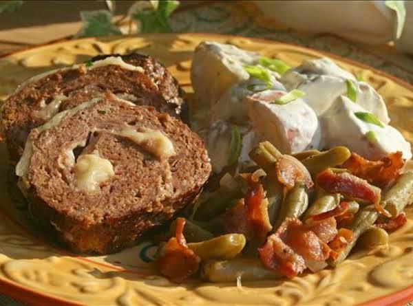 Sicilian Meat Roll With Mozzarella And Prosciutto