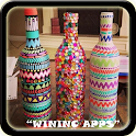 DIY craft bottle ideas icon