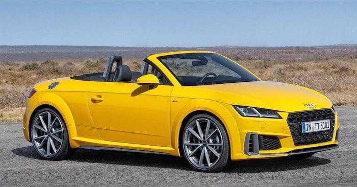 ราคา, ตารางผ่อน Audi TT Roadster 45 TFSI quattro S line 2019