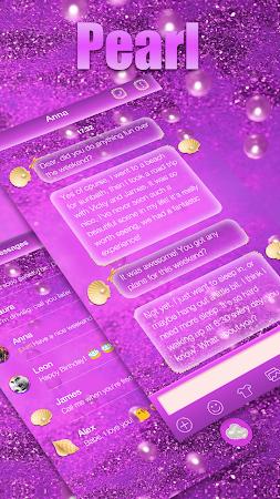 Glitter Pearl Keyboard Theme 1.0.2 screenshot 2086967