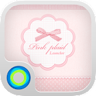 Pink Plaid Hola Theme icon