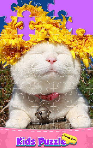 Cute Cats Jigsaw Puzzle Game