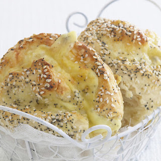 Cheddar and Sesame Buns