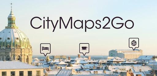 CityMaps2Go  Guide de voyages, Cartes hors-ligne