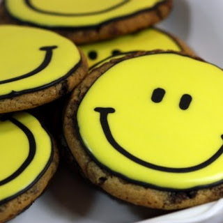 Chocolate Chip Decorated Cookies
