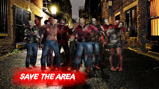 Zombie War Shooting - Commando Zombie Shooter Game 3 screenshots 3