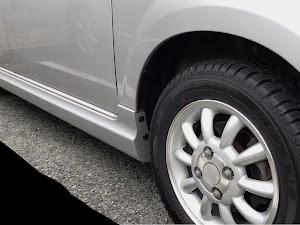 アルトラパン HE21S version-V 15年型のタイヤのカスタム事例画像 miminᕱ⑅ᕱ-Vさんの2019年01月11日17:24の投稿