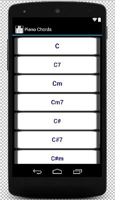 Piano Chords - screenshot