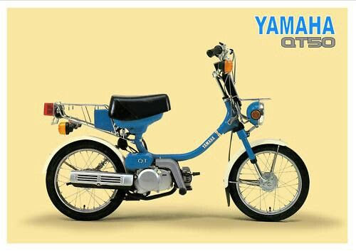 Yamaha QT 50 -manual-taller-despiece-mecanica