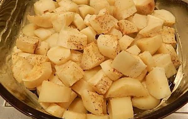 Baked Parsnips