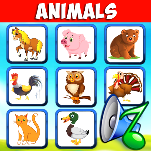 Animal sounds for babies. Learning animals free