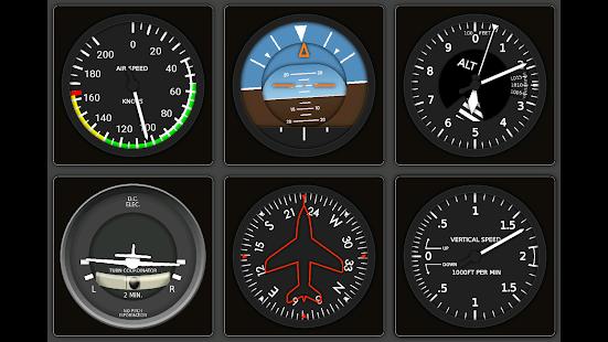 X Plane Steam Gauges Pro - náhled