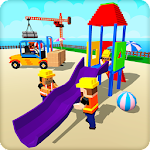 Playground Construct and Play Icon