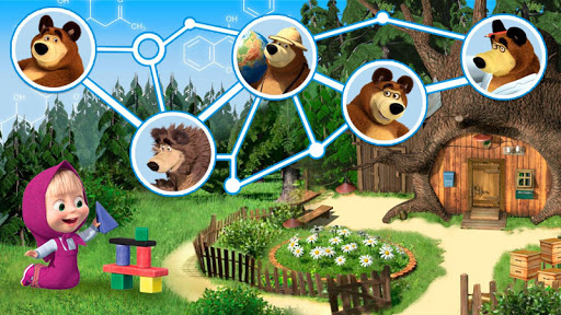 Masha and the Bear: Evolution 1.1.2 APK MOD screenshots 2