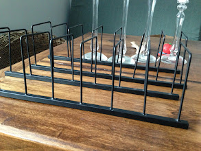 Photo: $9. Two dish display racks.