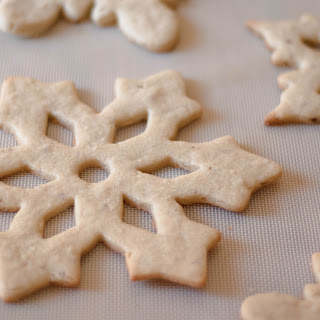 Almond Cut-Out Sugar Cookies.