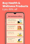 screenshot of 1mg - Online Medical Store & Healthcare App