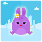 Bunny Hop Cute Retro Free Game