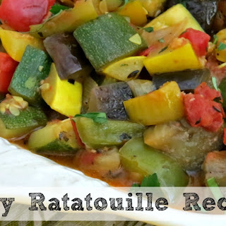 Easy Ratatouille Recipe | a Healthy Side Dish! Recipe