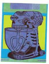 Photo: Wenchkin's Mail Art 366 - Day 195 - Card 195a