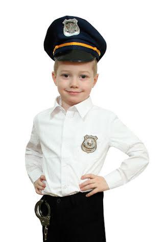 Poliskeps, barn
