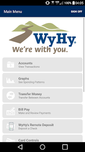 WyHy Mobile Banking- screenshot thumbnail