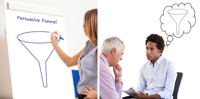 Counsellor recalling flipchart diagram when speaking
